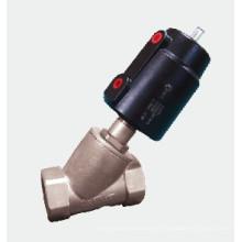 Válvula de bisel neumática - Dn10-80 G3 / 8 '' ~ G2-1 / 2 '' Roscado