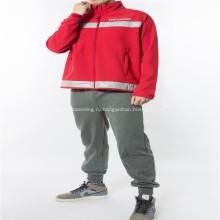 Большой принт толстая зимняя рабочая одежда