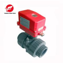dn32 dn40 CTF-002 20NM 220 V pvc électrique robinet à tournant sphérique