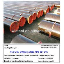 ASTM A53 / A106 GR.B époxy doublé en acier au carbone tuyau