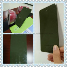 Hierba decorativa de alto brillo verde epoxi / polvo de poliéster pintura