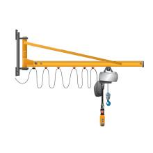 5 ton wall mounted jib crane with electric hoist