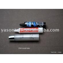 Tubo de boquilla tubo de plástico cosmético