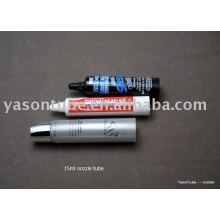 nozzle tube cosmetic plastic tube