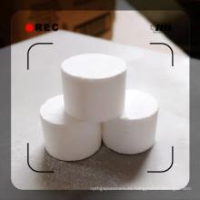 Tableta de ácido cianúrico al 98,5% para estabilizador de tratamiento de agua