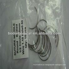 Agulhas de sutura veterinárias estéreis