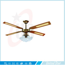 Unitedstar 52′′ Decoration Ceiling Fan (DCF-4B3L) with CE/RoHS