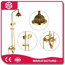 Золотой дождь душ набор кран изысканный душевой комплект