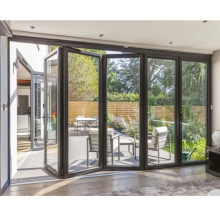 2018 new style high quality profile folding door price malaysia