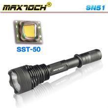 Maxtoch SN51 longo alcance 1300 Lumen lanterna LED