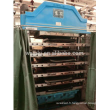 700 tonnes eva moussant press, presse mousse epdm
