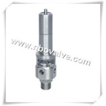Válvula de segurança de mola tipo compressor de ar API (KA61Y)
