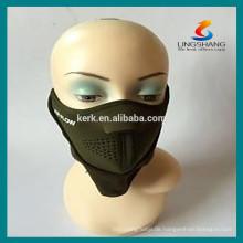 Sportschutzmasken halb Gesicht Helm Neopren Maske