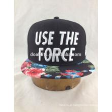 Baratos snapback caps personalizado com bordados 3D vendido no supermercado na China