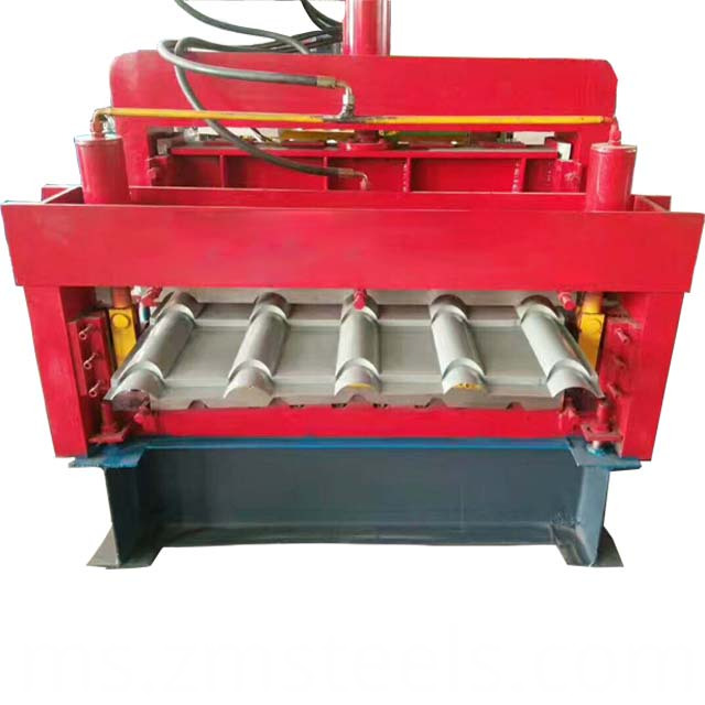 725mm Type Trapezoidal Roof Roll Forming Machine