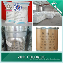98%Min Industry Grade Zinc Chloride for Oil Drilling