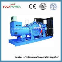 Mtu Motor 700kw Wasserkühlung Diesel Generator Set für heißen Verkauf