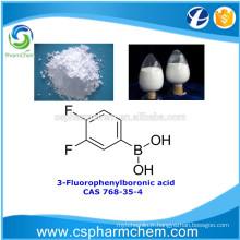 Acide 3-fluorophénylboronique, CAS 768-35-4, matériau OLED