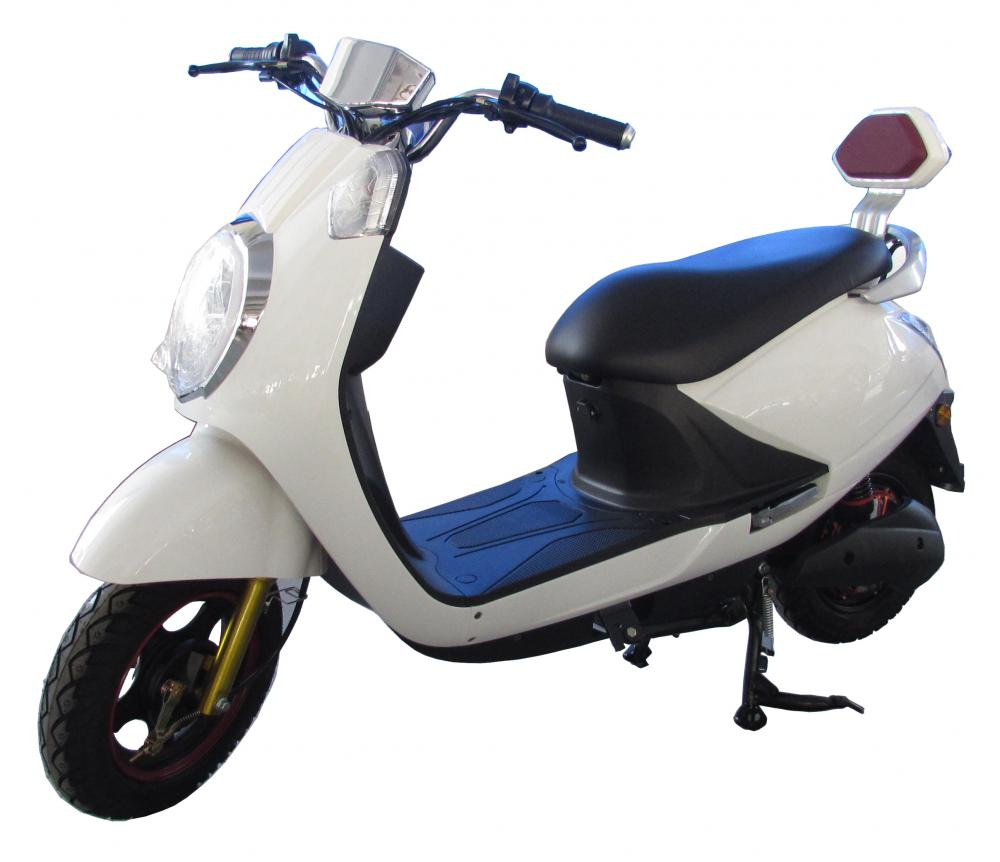 LCD meter electric motorcycle with double support