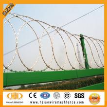 USA razor barb wire manufacturer ISO & SGS standard