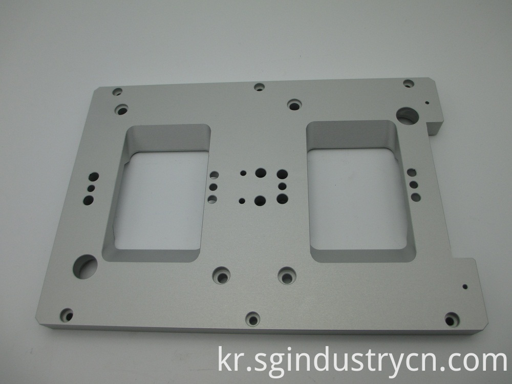 Food Machinery CNC Aluminum Parts
