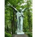 Outdoor Bronze Angel Statue For Sale