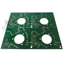 FR4 Tg135 Standard PCB 2-lagig Tauchzinn