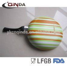 Forged aluminum chinese wok range die-cast aluminum wok with ceramic coating