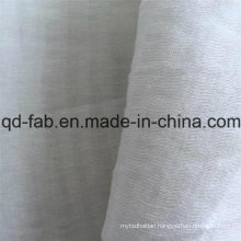 65%Linen20%Cotton15%Nylon Jacquard Gauze Fabric (QF16-2509)