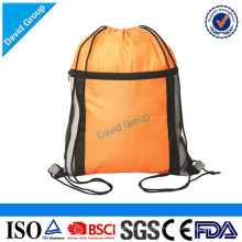 Polyester Gym Drawstring Sports Bag