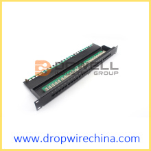 25 Port Cat 3 RJ11 Patch Panel, Sprachfunktion