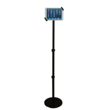 Tablet floor stand adjustable with lock