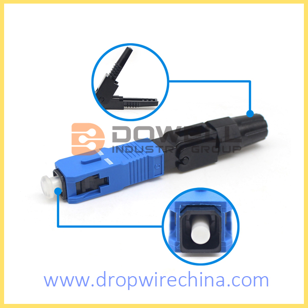 Sc Upc Mechanical Fiber Optic Connector