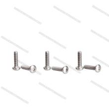 OEM Manufacturer of Titanium Screws Socket Botton Flat screws