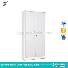 Full Height Tambour Door Cupboard, steel 4 Adjustable Shelves