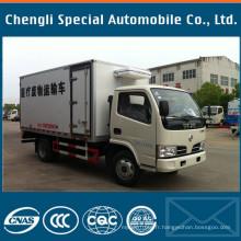 Usine 4tons à 5tons camion de réfrigération de camion de marque de Dongfeng
