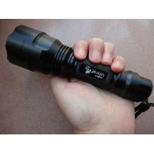 Wiederaufladbare mächtigste LED-Taschenlampe