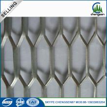 Malla metálica expandida de acero con bajo contenido de carbono