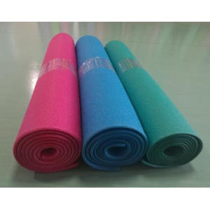 PVC double color gym equipment mat