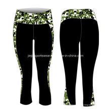 OEM Factory Lycra Sublimation Ladies Pantalones de yoga