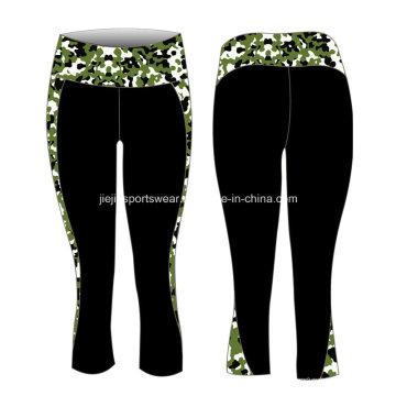 Фабрика OEM лайкра сублимации женские штаны для йоги
