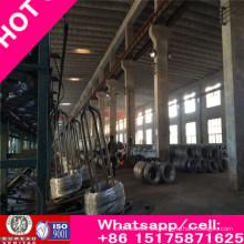 Alambre de acero 1 * 19, para percha y cable de comunicación, alambre de acero galvanizado 09
