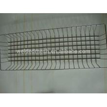 rectangular stainless steel wire mesh basket