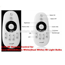 2.4G Wireless CCT wifi controller DC12V led Dual white dimmer