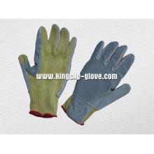 Gant anti-coupe en paume renforcée aramide et tricoté à la corde 10g-2308