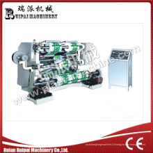 Machine de rebobinage de fente de film
