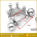 316L Surgical Steel Crown barbell Silver Ear Tragus Cartilage Body Piercing Jewelry