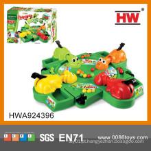Novo item interessante brinquedos de plástico brinquedo salto sapo