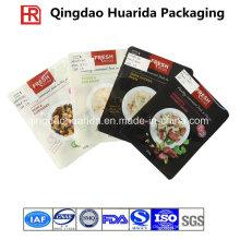 Plastikflachtiefdruck-Druckverschluss-Lebensmittelverpackungs-Tasche