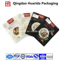 Plastic Flat Gravure Printing Ziplock Food Packaging Bag